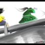 samurays on a bridge by Ace0fredspades