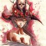 demon hat by FASSLAYER