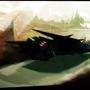 The Black Bird by Trez-Treize