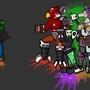 Battle Turtle 2 and Enemies