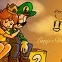 Luigi + Daisy by Mario644