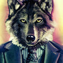 Wolf in a Suit by itsKris