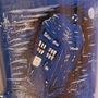 TARDIS mug by UndeadCrow