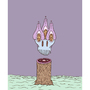 Tree Stump Ghost by Rutger