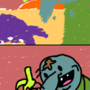 man vs. bird by tehslaphappy