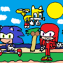 Sonic Heroes Drawn by dreamboy125