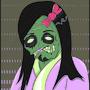 Zombie Girl by juturnal