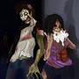 Zombie Love by NikkyRawrs