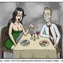 Romantic dinner by Slackman