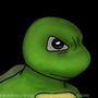 Turtle In The Dark by artscreamscoop
