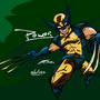 All that Power-Wolverine by Neochilds