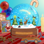 Christmas snowglobe by Tomsan