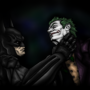 Arkham Asylum - Batman and Jok by fadedshadow