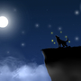 bright night by immaboreddude
