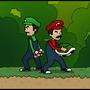 Mario and Luigi by somezombie