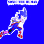 Sonic the hedgehog as a human by plasmatic0
