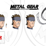 Metal Gear Animated Face Chart