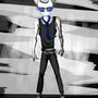 Mr. Blue - GO BACK by Visilveira