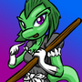 The lusty argonian maid by psovegeta