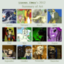 2012 Summary of Art by Nintendoart