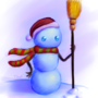 Snowy The Snowman by Tedka