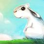 Paranoid Rabbit reaching Seren by akoRn