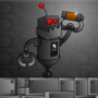 Robot with battery by JamD