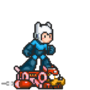 Mega Man Meets Adventure Time