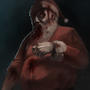 Undead Santa by Ludic