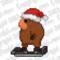 16-Bit Hoverboard w/ Santa Hat
