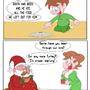 Santas Midnight Snack by PinballComic