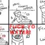 Fuck Yo Water by cwilfordcomics