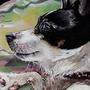 Mitsje painting by Koel-Art