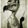 Fancy Bird by KLawter