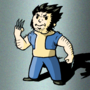 Vault Boy Wolverine Colored by SirVego