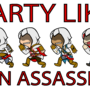 Party like an assassin by foxybabie1989
