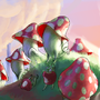 the colony of mushrooms by rafaelzinho