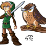 Link & Owl by Geekpower