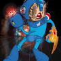 megaman X mass effect by SatansCaturday