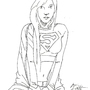 Supergirl Illustration #1