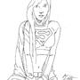 Supergirl Illustration #1