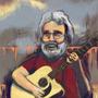 Jerry Garcia by ericvansingel