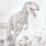 Dino chase by DigitalGenius