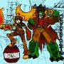 Engineer Max & Cap'n Gator by Caligator
