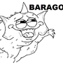 Baragon by methshark