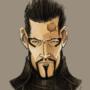 Deus Ex: Adam Jensen Caricatur by HanserAnimations