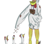 Chicken Man by PyroToaster