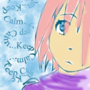Keep calm think about it by nebotte35
