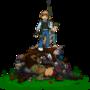 Zombie-Slaying Badass by WooleyWorld