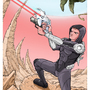 Pross Comics Trading Card #1 by LinesToThePaper